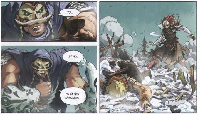 Oliphan s'en prend à Victor pour faire souffrir Maskemane