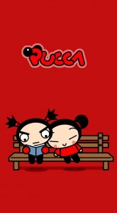 Pucca est un dessin anim fait en dessin vectoriels