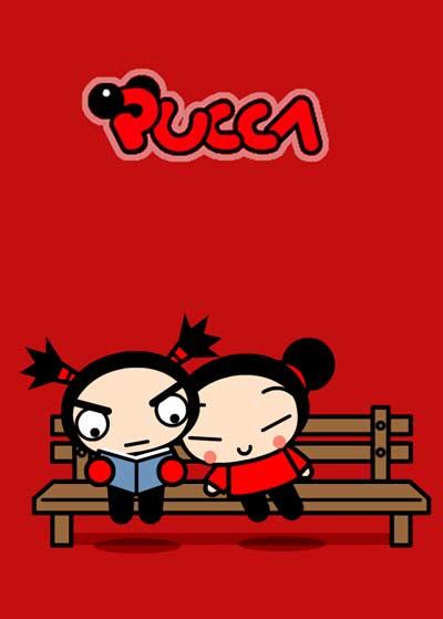 Pucca est un dessin animé fait en dessin vectoriels