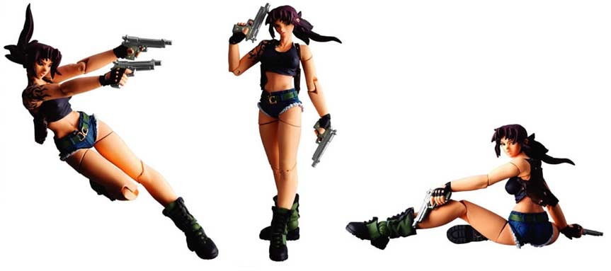 Revoltech Black Lagoon Revy Action Figure