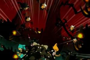 Les 666 Pyrashus attaquent Yugo et ses amis (Wakfu)
