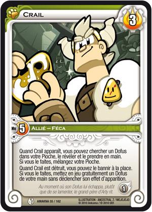 Crail : Carte Wakfu TCG (Dofus)