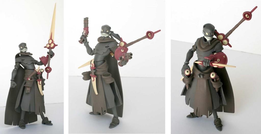 Armement de Remigton (figurine Wakfu UDX N°1)