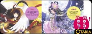 Entête Otakia nobi nobi! sort Kaguya, princesse au clair de lune et le secret de la Grue Blanche