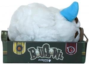 Vue de droite du packaging de la boufballe (Wakfu)