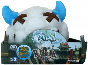 Vue de face du packaging de la boufballe (Wakfu)