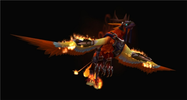 Warcraft : hippogriffe des flammes, la récompense ultime pour les terres de feu (Patch 4.2 de World of Warcraft)