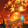 Ragnaros de Warcraft (illustrations)