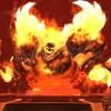 Ragnaros (World of Warcraft) attendant les joueurs dans le patch 4.2