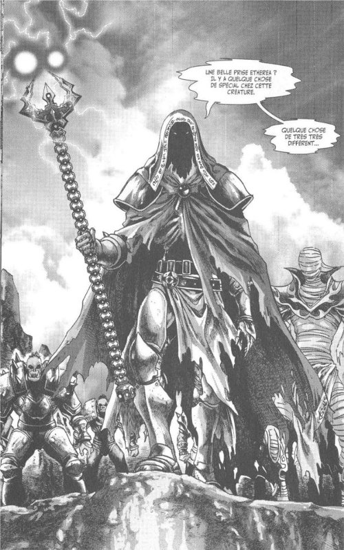 Manga World of Warcraft - Shadow Wing : chevalier de la mort Ragnok