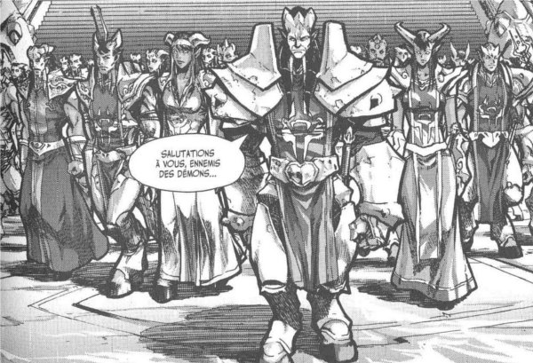 Manga World of Warcraft - Shadow Wing : Rassemblement de draenei
