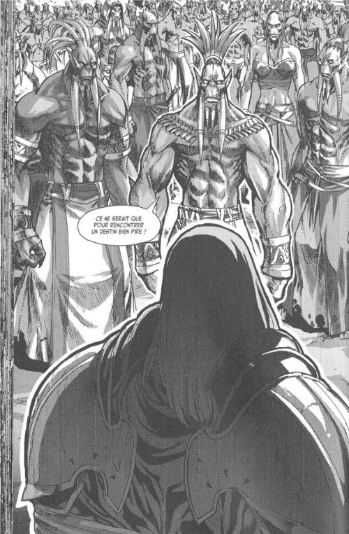 Manga World of Warcraft - Shadow Wing : Groupe de Roués