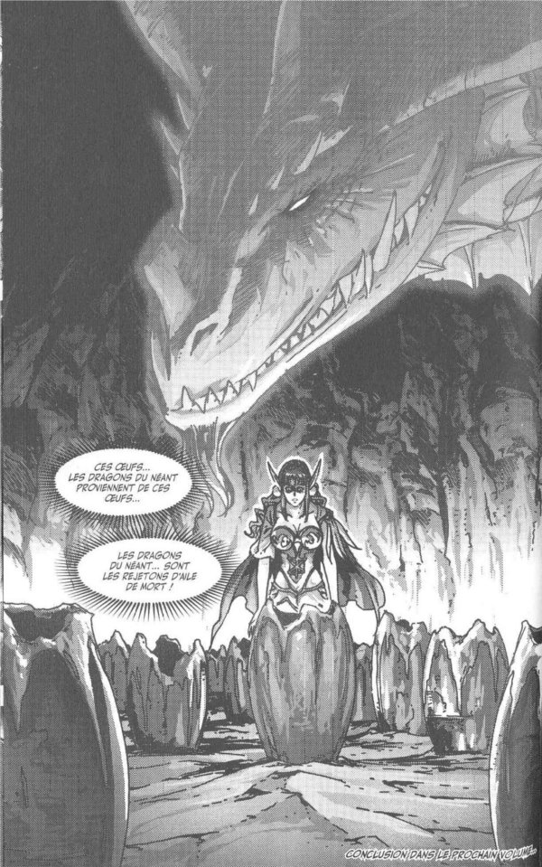 Manga World of Warcraft - Shadow Wing : Tyrygosa découvre la vérité de l'origine des dragons de l'Aile de Néant