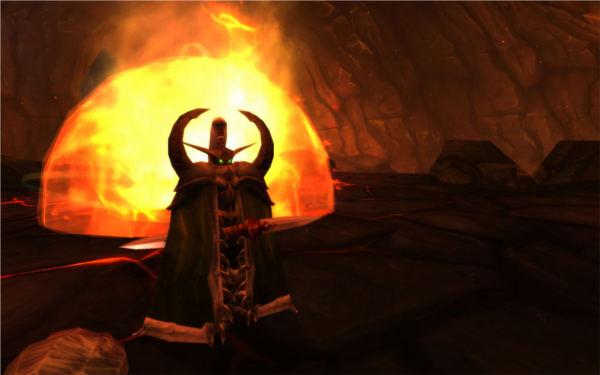 World of Warcraft : image des terres de feu