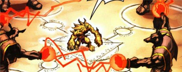 Cho'gall se renforce à Anj'Qiraj (bande-dessinée World of Warcraft)