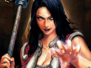 Onyxia dans le jeu de carte World of Warcraft