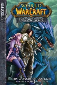 Couverture du manga Warcraft Shadow Wing