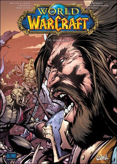 Couverture du tome 12 de la bande-dessinee World of Warcraft