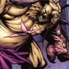 Cho'gall envoie Valeera dans un mur  (bande-dessinée World of Warcraft)