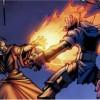 Meryl  attaque Marteau du crépuscule tandis que Valeera va chercher Med'an à Anh'Qiraj  (bande-dessinée World of Warcraft)