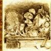 Un groupe d'aventuriers part pour les donjons (Page 22 du Dofus Art Book : Session 3)