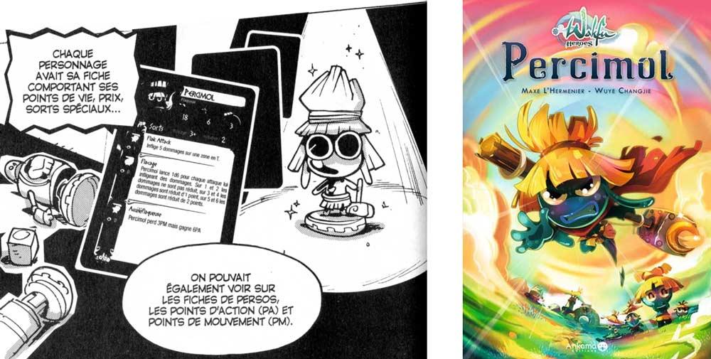 Un clin d'oeil est fait à Persimol dans le tome 15 de Dofus