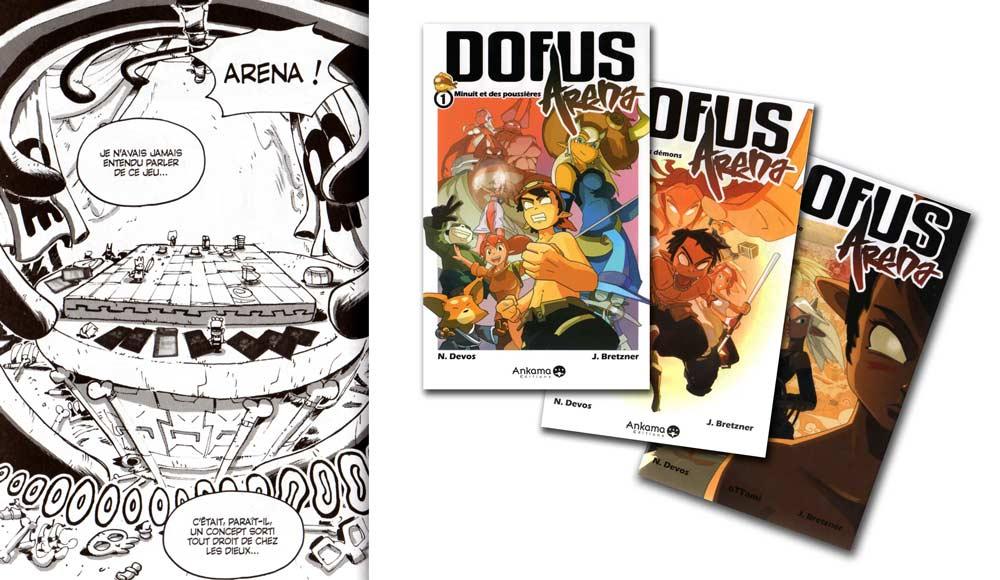 Arena est un jeu vidéo et un manga édité par Ankama