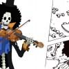 On peut voir un clin d'oeil au personnage de Brook tiré de One Piece