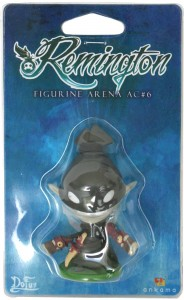 Packaging de la figurine SD de Remington
