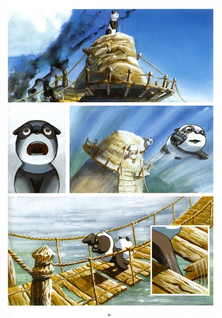 Page 4 du tome 1 de Pandala (Dofus)