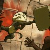 Pandhravan invoque un clone pour affronter les vampires (Dofus - Pandala)