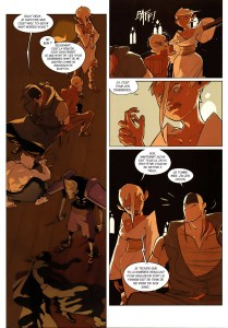 page 2 du tome 2 de Remington (Wakfu - Comics)