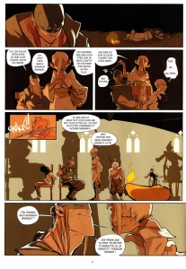 page 3 du tome 2 de Remington (Wakfu - Comics)
