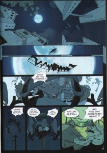 Page 1 du Comics N°4 de Remington (Wakfu)