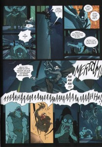 Page 3 du Comics N°4 de Remington (Wakfu)