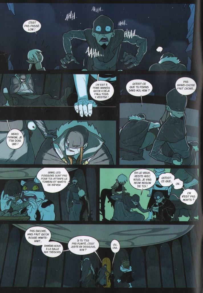 Page 4 du Comics N°4 de Remington (Wakfu)