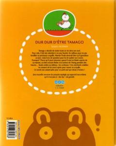 Dos de la couverture du Tome 2 de Tamago : Dur dur d'être Tamago