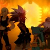 L&#039;quipe de Kriss la Krass avec Evangelion et Amalius (Wakfu)