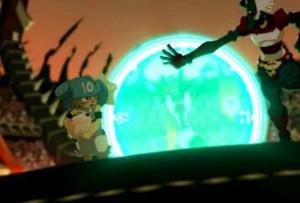 Le match se passe mal pour Yugo et ses amis (Wakfu - Boufbowl)