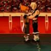 Evangelion (Evangelyne) vient en aide à Tristepin qui se sent assez mal (Wakfu - Boufbowl)