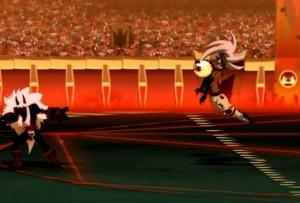 Le Boufbowler Masqué roue de coups Kriss la Krass (Wakfu - Boufbowl)
