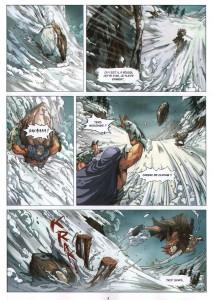 Page 3 du comics Maskemane N°3