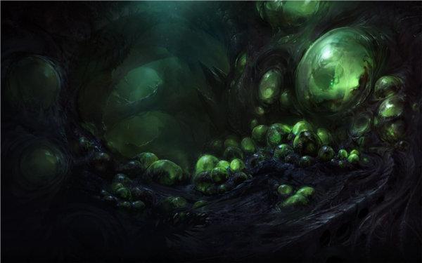 Starcraft 2 : Artwork de Char