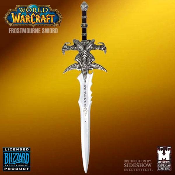 Réplique de l'épée Deuillegivre d'Arthas / Le roi liche (World of Warcraft)