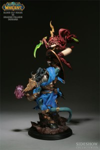 Diorama World of Warcraft / Sideshow Collectibles : Elfe de sang vs draenei