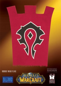 Drapeau horde de World of Warcraft