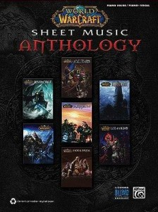 Partition de musique World of Warcraft