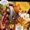 Whitemane se battant contre le Fléau (Bande-dessinée World of Warcraft - Porte-Cendres)