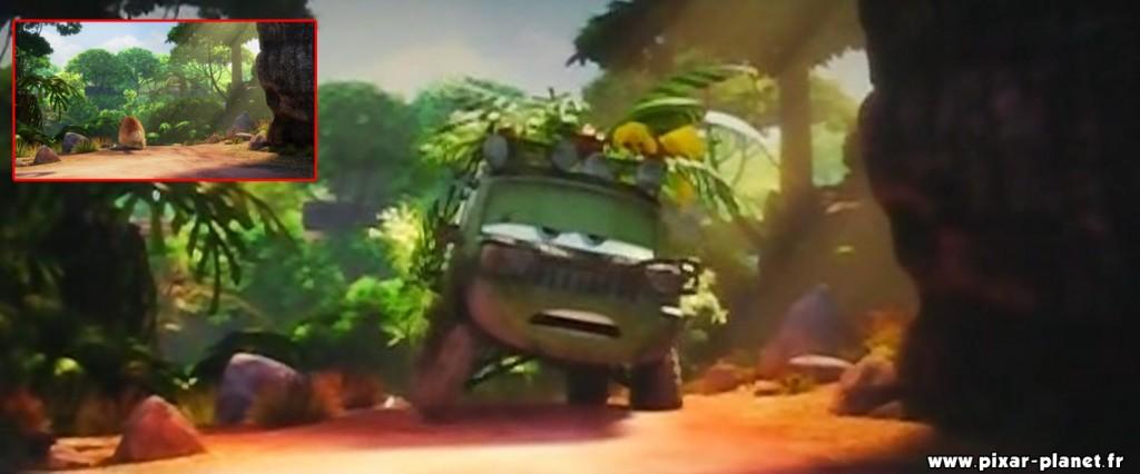 """Le décor est le même que celui de """"Là-haut"""" lorsque Carl veut de se débarrasser de Kévin et de Dug"""
