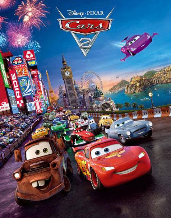 Cars 2 - Pixar (affiche)